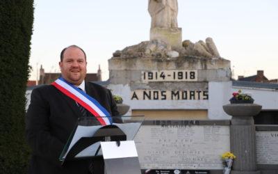 Discours de commémoration de l'armistice